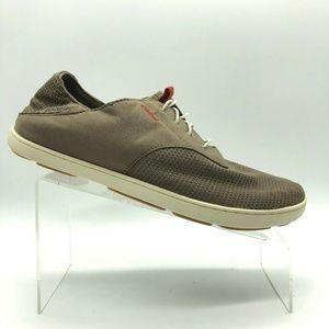 Olukai Nohea Moku Mesh No Tie Lace Sneakers 9.5